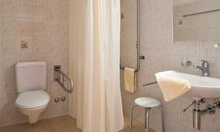 Accessibiltà - Casa del sole - Parkhotel Emmaus***